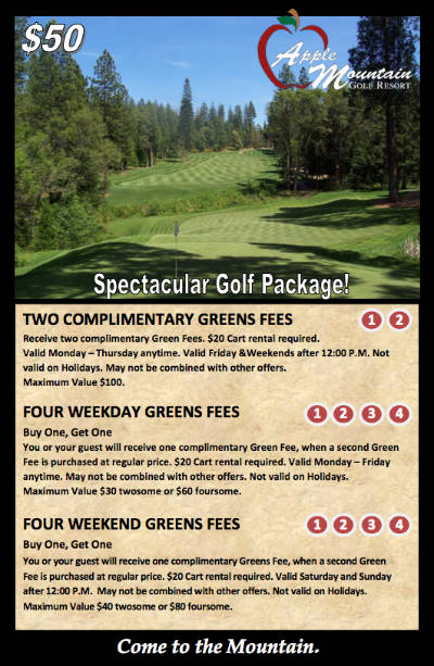 Spectacular Golf Package